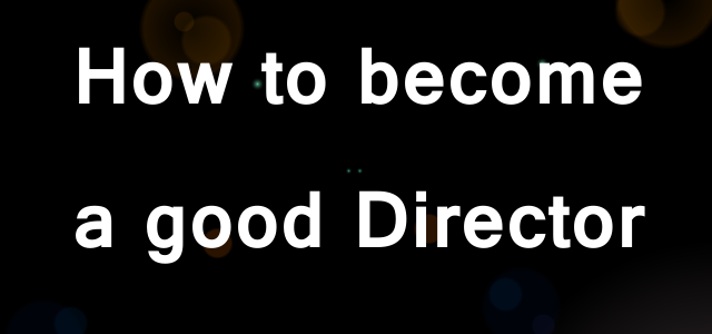 Cinematography – How to become a Film Director