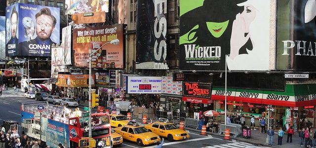 Pack Your Olympia Corsair Luggage and Fly to Broadway to Watch Wicked